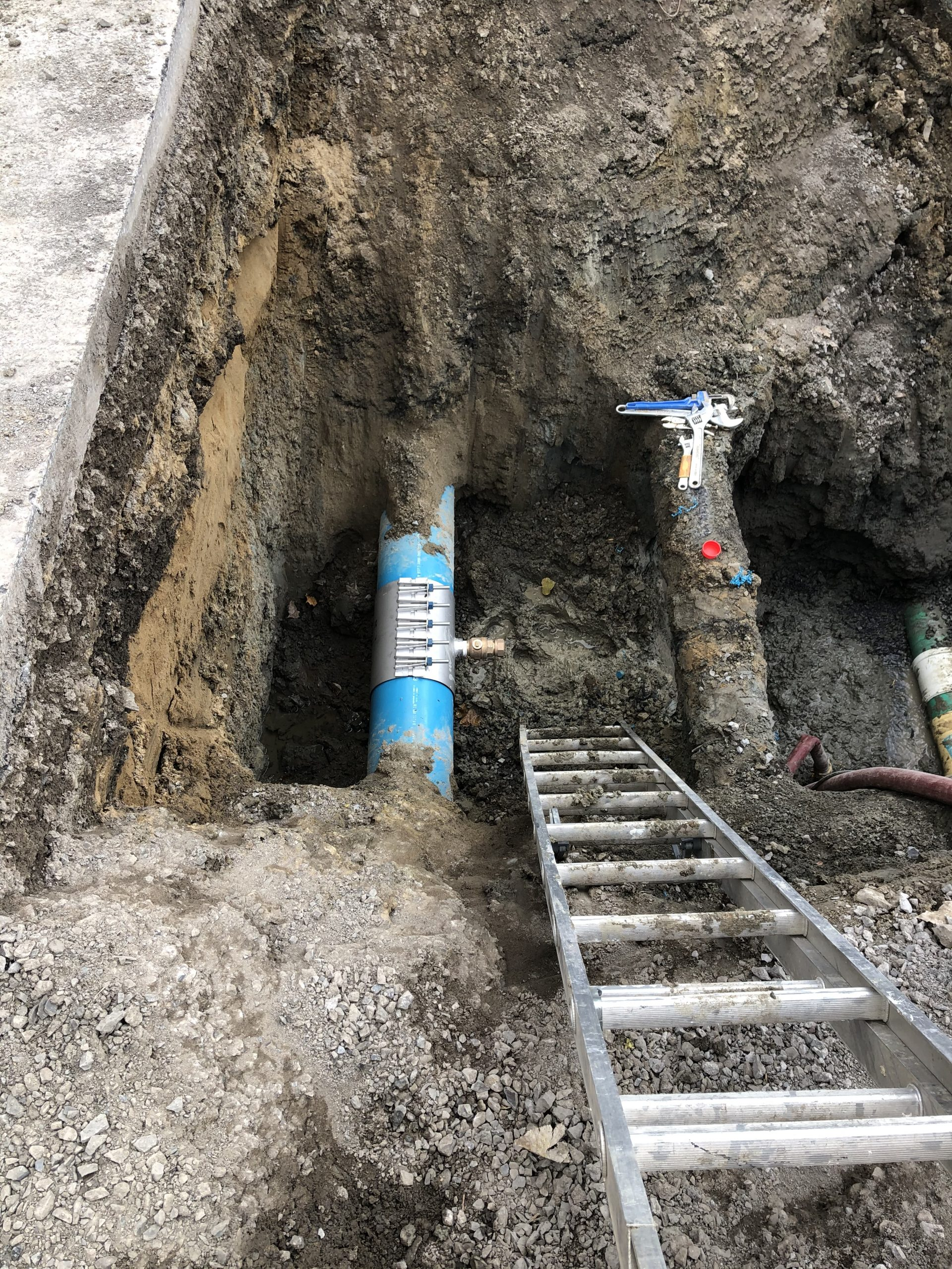 MUNICIPAL SERVICES CONNECTION (WATER, RAIN, SEWER) 1
